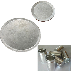 6061 / 6063 HO small Aluminum disc / Aluminum circle for making Capacitor housings
